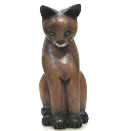 Котка от дърво