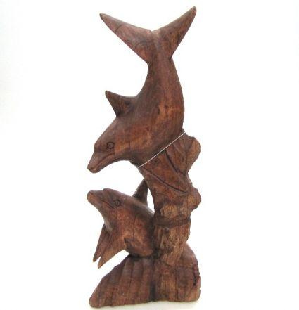 Делфин от дърво 2-ка  ръчна изработка