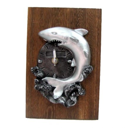 Часовник стенен/настолен от дърво и резин