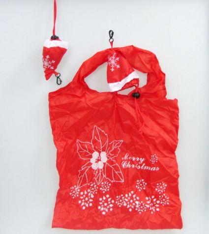Торбичка от плат сгъваема в калъфче