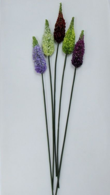 Изкуствени цветя за декорация 5цв.