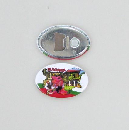 Отварачка+магнит от метал  с изглед от БЪЛГАРИЯ.С ваша снимка мин.100бр.