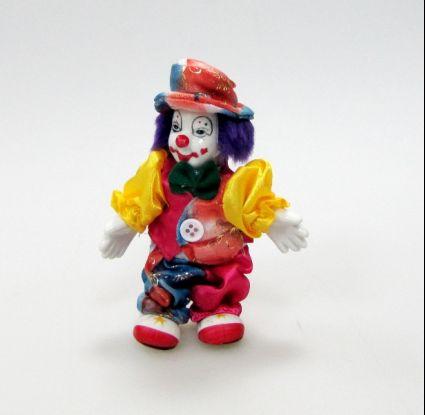 Клоун порцелан и плат