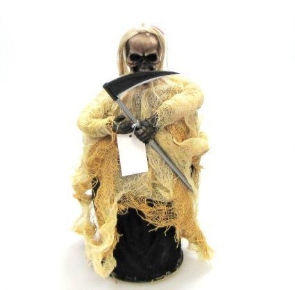фигура на Смъртта от плат - свири;свети;движи се