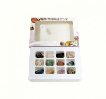 Естествени минерали - малки късчета-12бр.к-т