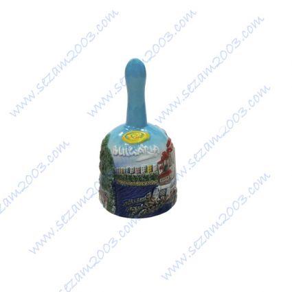 Керамично звънче  с релефни изгледи и надпис България