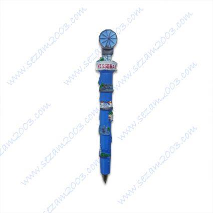 Химикалка от резин с релефни изгледи от Южно Черноморие-НЕСЕБЪР