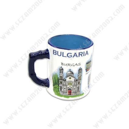 Чаша от керамика с релефни рисунки от Южно Черноморие
