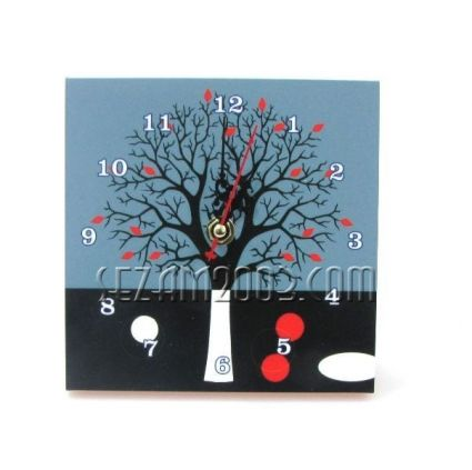 Часовник от МДФ-настолен/стенен