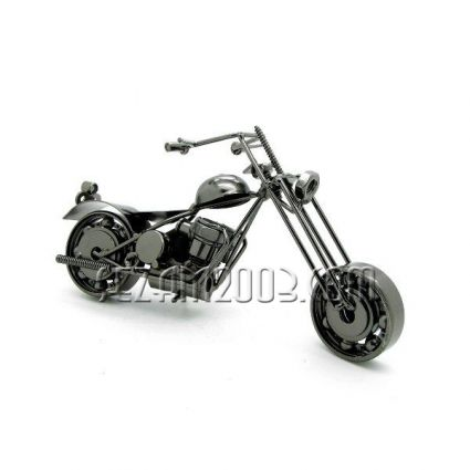 Motorcycle parts from metal