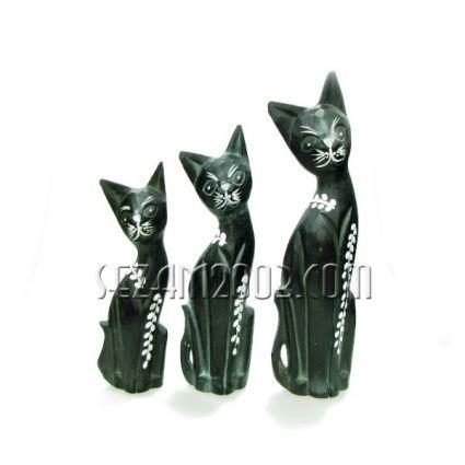 Котки от дърво 3бр.к-т