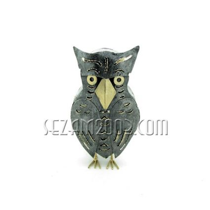 Owl-lamp metal