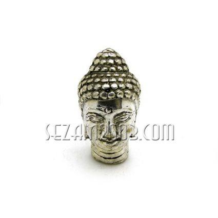 глава Буда метална отливка полирана - Индонезия