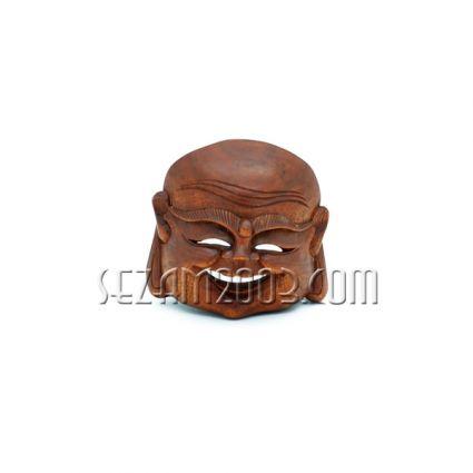 Маска стенна дърворезба  Буда  ръчна изработка