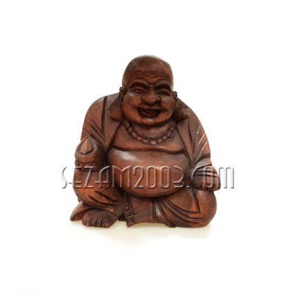 Буда дърворезба  седнал  ръчна изработка