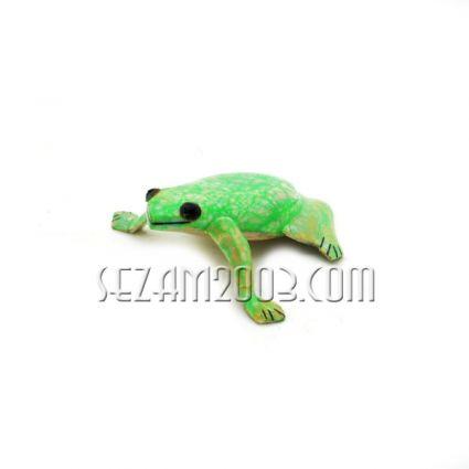 фигурка на жабка от натурален седеф