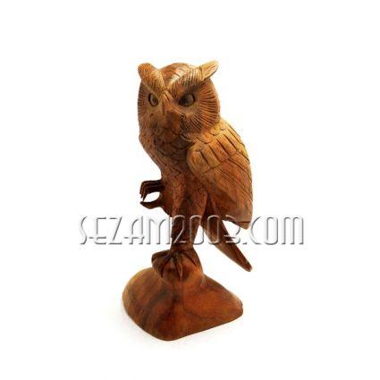 БУХАЛ  - фигура дърворезба  ръчна изработка