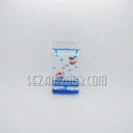 Пластмасов сувенир-стичащи се цветни капки -ДЕЛФИН