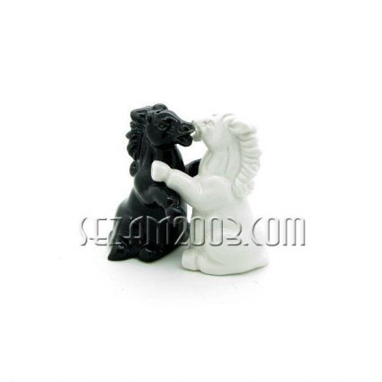 комплект сол / пипер от керамика - кончета