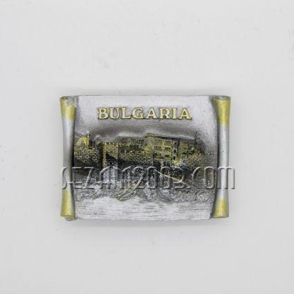 магнит за хладилник графичен дизайн от полирезин -  BULGARIA
