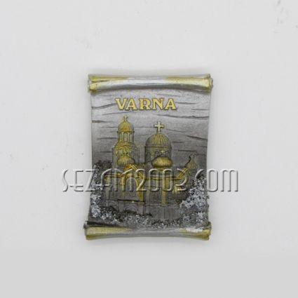 магнит за хладилник графичен дизайн от полирезин - ВАРНА