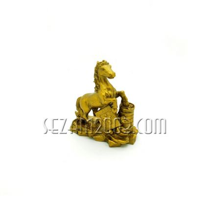 Figure feng shui of resin - Horse