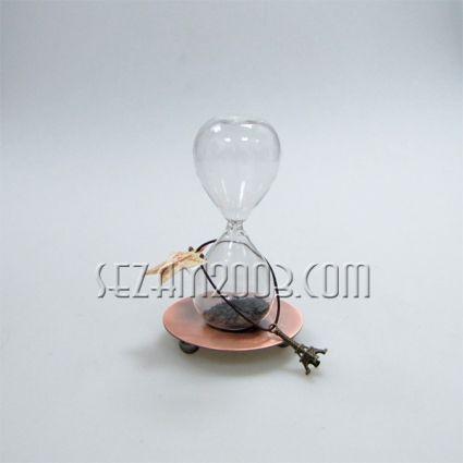Магнитен часовник - магнитен прах , метал и стъкло