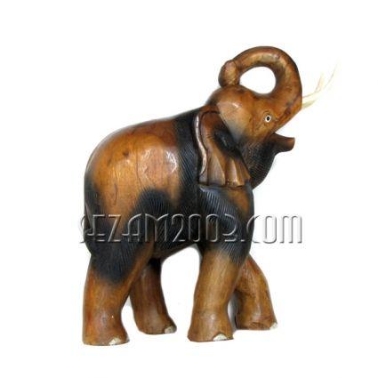 Слон голям от  дърво  ръчна изработка