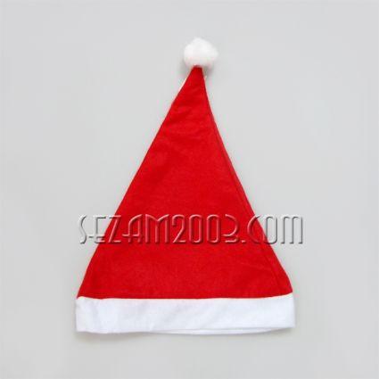 Коледна ШАПКА с декорации от плат