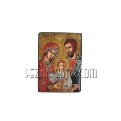 Icon of Bulgarian author reproduction on wood