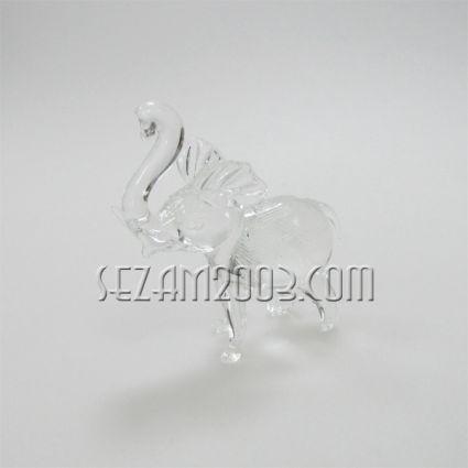 стъклена фигура СЛОН