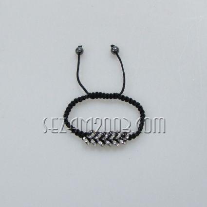 гривна от плетена верижка и ХАЛКИ от метал