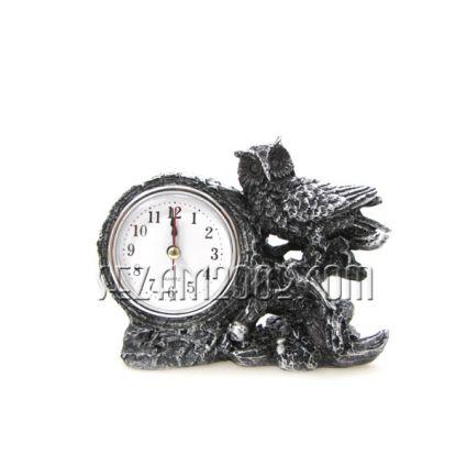 БУХАЛ+часовник - фигура от полирезин