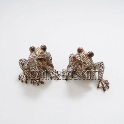 ЖАБКИ -  фигури от полирезин 2 броя комплект