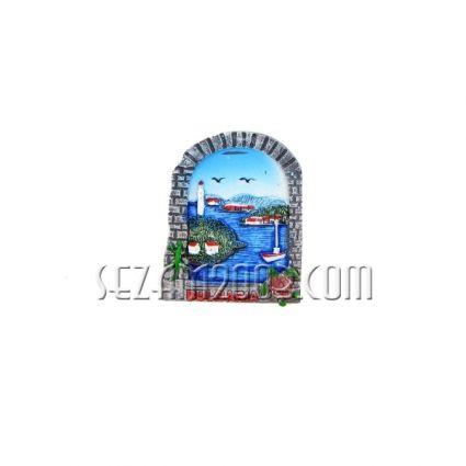 магнит за хладилник от полирезин - ПРОЗОРЕЦ и пейзаж + БГ