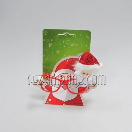 GLASSES - Christmas decoration of plastic