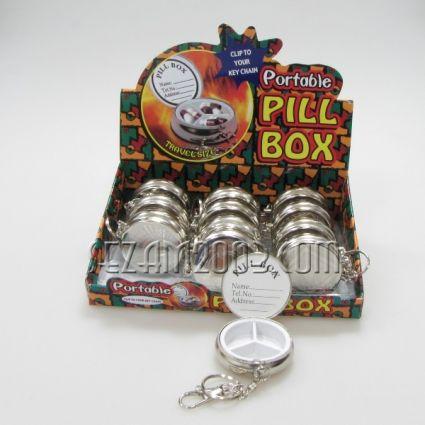 кутийка от метал и пластмаса за хапчета
