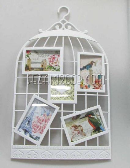 КАФЕЗ - пано за стена с рамки за снимки от пластмаса