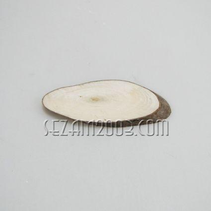 пънче от дърво с кора - подходящо за печат ; рисуване ; пирография