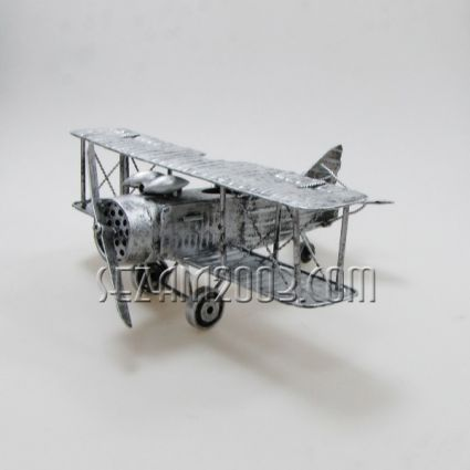 model of the airplane metal parts
