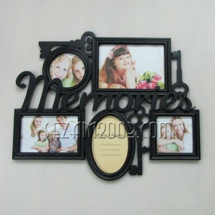 пано/рамка за снимки стенно от пластмаса - Memories