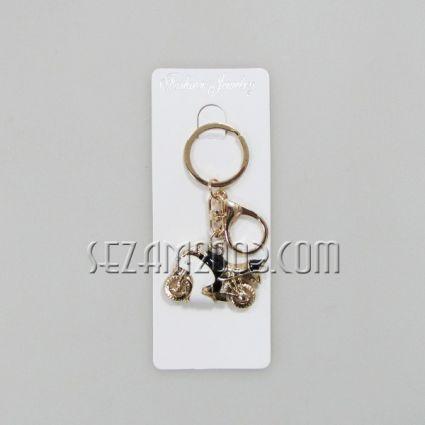 Ключодържател от метал и камъчета-мотор