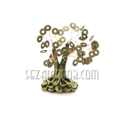 Дърво на живота от резин  с метални парички