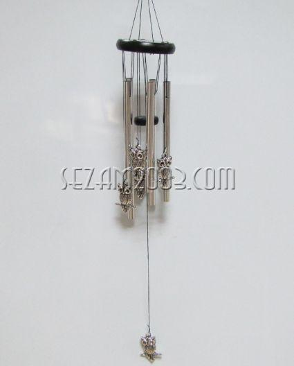 БУХАЛЧЕТА - вятърен звънец от дърво и алуминий