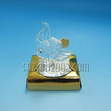 РИБКА - фигурка от стъкло в подаръчна кутийка