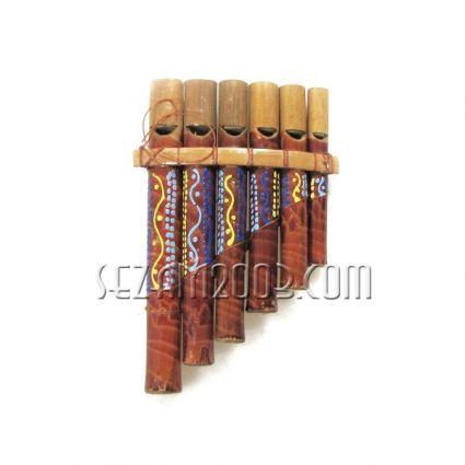 сувенир / музикален инструмент - ХАРМОНИКА от дърво  ръчна изработка