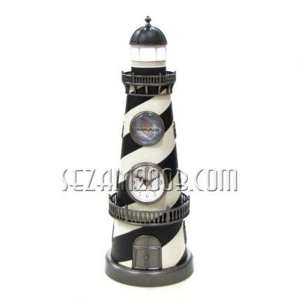 морски ФАР с музика,часовник и лампа
