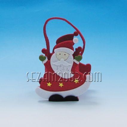 Дядо Коледа -  торбичка от еко полар