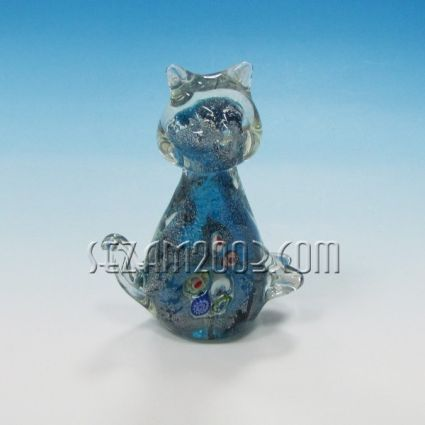 CAT figure glass