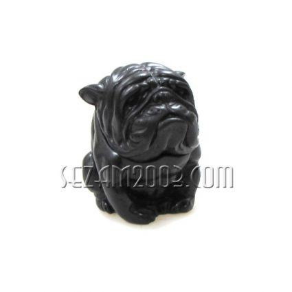 КУТИЯ с куче - сувенир от черен полирезин